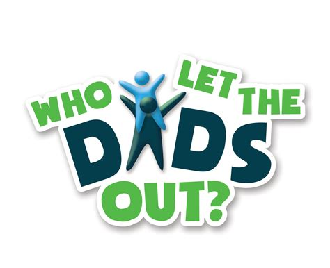 Who let the dads out logo
